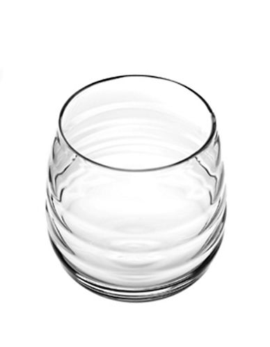 Sophie Conran For Portmeirion Balloon Double Old Fashion Set Of 2 Glasses-CLEAR-One Size