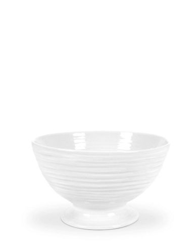 Sophie Conran For Portmeirion Footed Bowl-WHITE-One Size