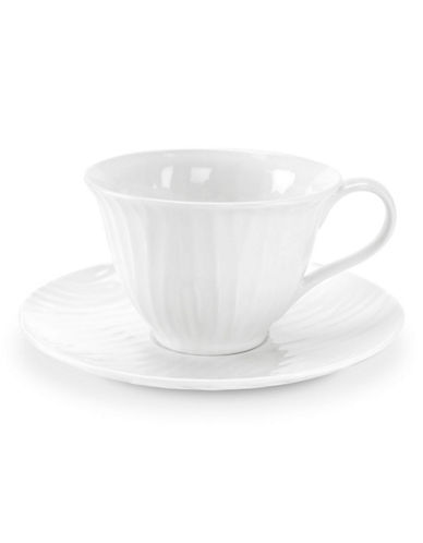 Sophie Conran For Portmeirion White Oak Tea Saucer-WHITE-One Size
