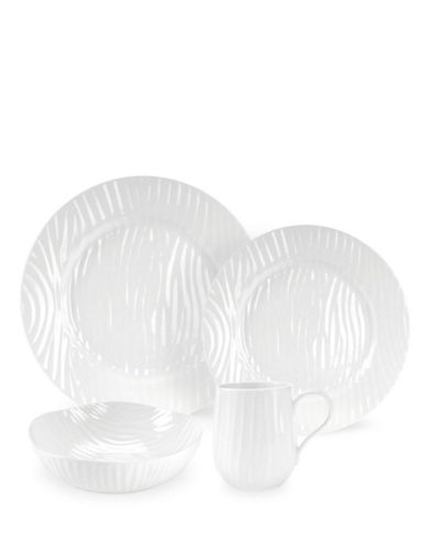 Sophie Conran For Portmeirion White Oak 4 Piece Place Setting-WHITE-One Size