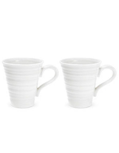 Sophie Conran For Portmeirion Solo Mugs Set Of 2-WHITE-One Size