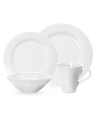 Sophie Conran For Portmeirion 16 Piece Dining Set-WHITE-One Size