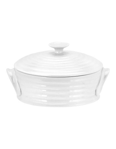 Sophie Conran For Portmeirion Mini Covered Baker-WHITE-One Size