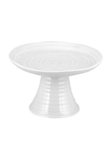 Sophie Conran For Portmeirion Mini Cake Stand-WHITE-One Size