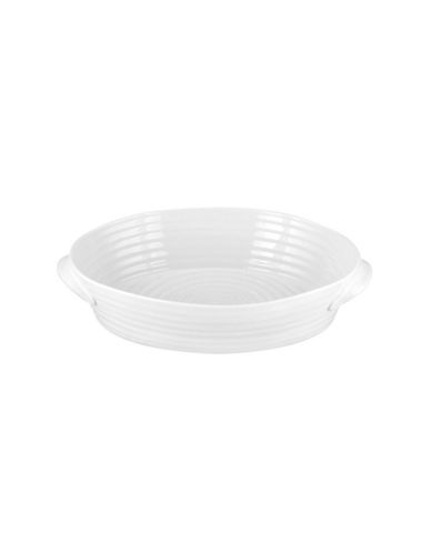 Sophie Conran For Portmeirion Small Oval Roaster-WHITE-One Size