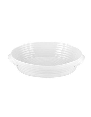 Sophie Conran For Portmeirion Medium Oval Roaster-WHITE-One Size