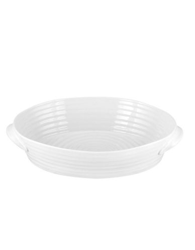 Sophie Conran For Portmeirion Large Oval Roaster-WHITE-One Size