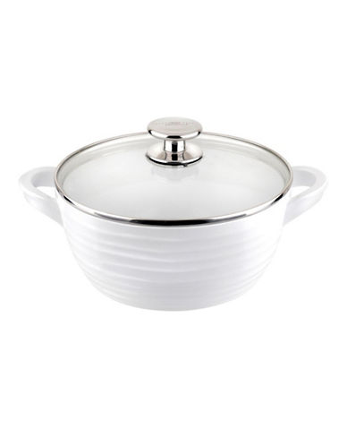 Sophie Conran For Portmeirion Small Covered Non-Stick Casserole-WHITE-One Size
