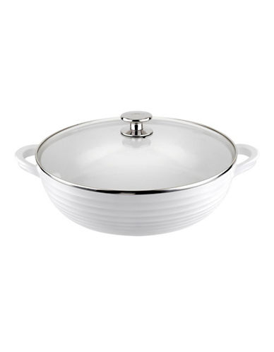 Sophie Conran For Portmeirion Covered Non-Stick Shallow Casserole-WHITE-One Size