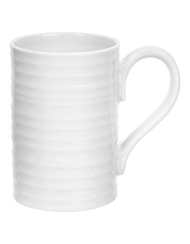 Sophie Conran For Portmeirion Ridged Tall Mug-WHITE-One Size