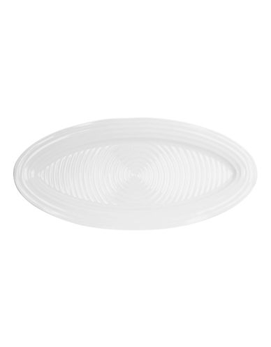 Sophie Conran For Portmeirion 21-Inch Oval Platter-WHITE-One Size