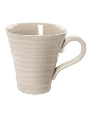 Sophie Conran For Portmeirion Ridged Coffee Mug-BEIGE-One Size