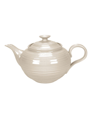 Sophie Conran For Portmeirion Ridged Teapot-BEIGE-One Size