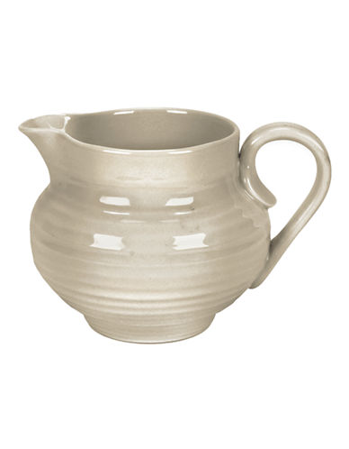 Sophie Conran For Portmeirion Ridged Cream Jug-BEIGE-One Size