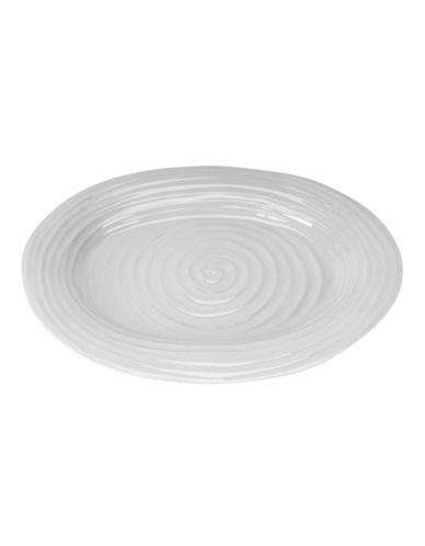 Sophie Conran For Portmeirion Large Oval Platter-SOFT GREY-One Size