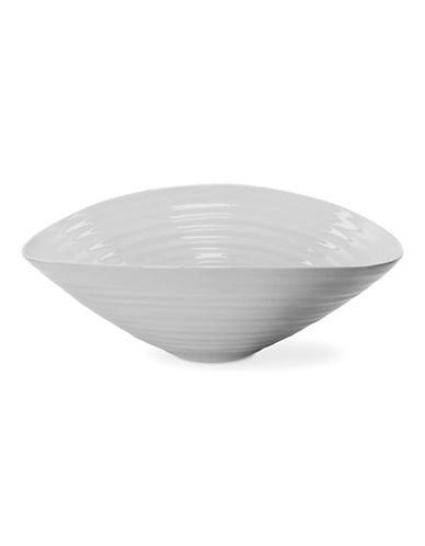 Sophie Conran For Portmeirion Medium Salad Bowl-SOFT GREY-One Size