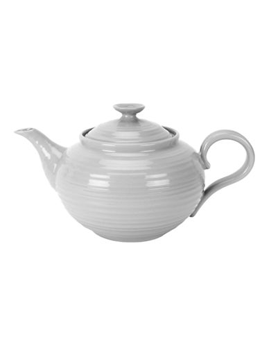 Sophie Conran For Portmeirion Teapot-SOFT GREY-One Size