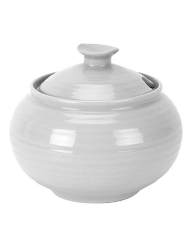 Sophie Conran For Portmeirion Covered Sugar Bowl-SOFT GREY-One Size