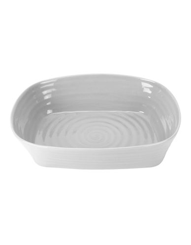 Sophie Conran For Portmeirion Rectangular Lasagna Dish-SOFT GREY-One Size