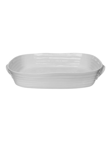 Sophie Conran For Portmeirion Large Handled Roasting Dish-SOFT GREY-One Size