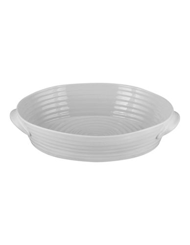 Sophie Conran For Portmeirion Oval Handled Roasting Dish-SOFT GREY-One Size