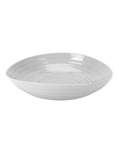Sophie Conran For Portmeirion Pasta Bowl-SOFT GREY-One Size