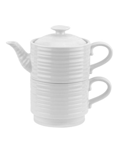 Sophie Conran For Portmeirion Tea For One Set-WHITE-Small