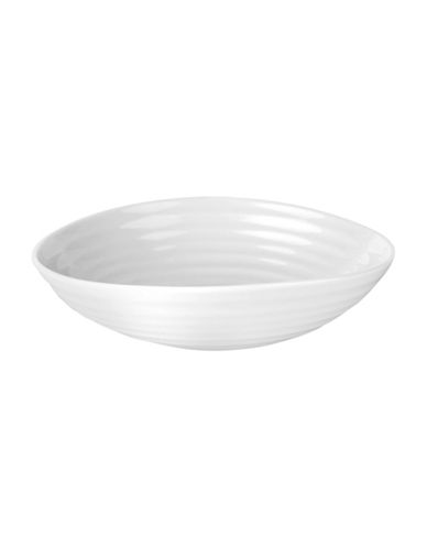 Sophie Conran For Portmeirion Sophie Conran Dessert Bowl-WHITE-7 Inches