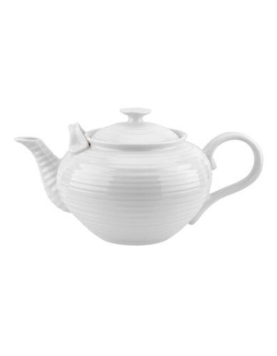 Sophie Conran For Portmeirion Tea Party Teapot-WHITE-One Size