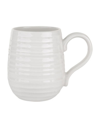 Sophie Conran For Portmeirion Sophie Conran Set of Four Assorted Beehive Mugs-WHITE-One Size
