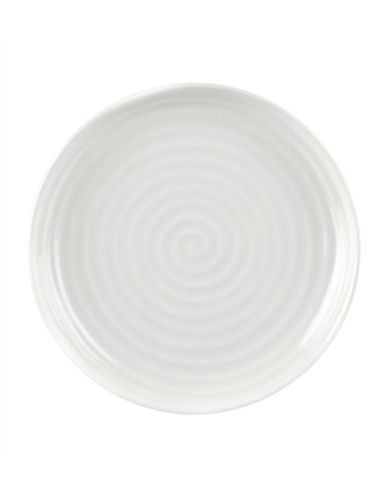 Sophie Conran For Portmeirion Sophie  Conran Set of Four Coupe Dinner Plates-WHITE-10.5in