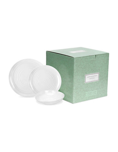 Sophie Conran For Portmeirion 12-piece Coupe Dinner Set-WHITE-12 Piece Set