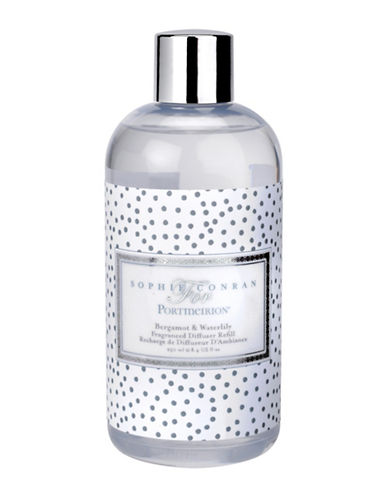 Sophie Conran For Portmeirion Bergamont And Waterlily Diffuser Refill-WHITE-250 ml