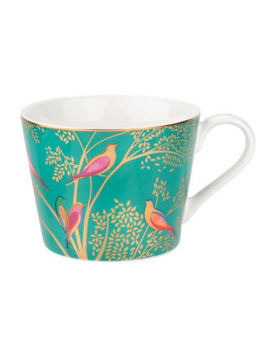 Portmeirion Chelsea Porcelain Coffee Mug-GREEN-One Size