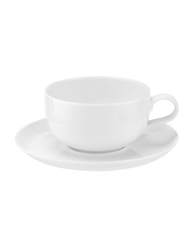 Sophie Conran For Portmeirion Set of Two Choices Café au Lait Cups-WHITE-One Size
