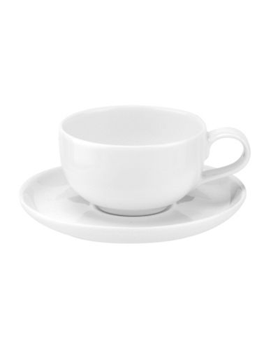 Sophie Conran For Portmeirion Two-Piece Choices Espresso Cup and Saucer Set-WHITE-One Size
