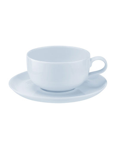 Sophie Conran For Portmeirion Two-Piece Choices Cafe au Lait Set-BLUE-One Size
