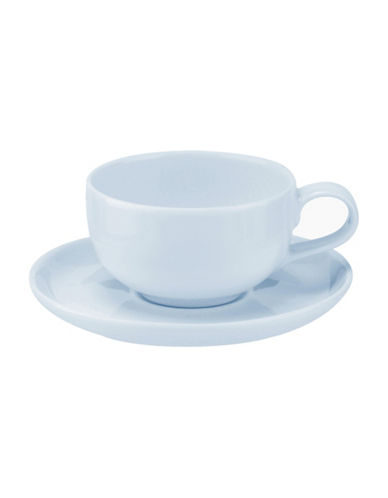 Sophie Conran For Portmeirion Two-Piece Choices Espresso Cup and Saucer Set-BLUE-One Size