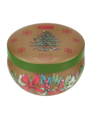 Spode Pine Tree Wax Filled Boutique Tin-MULTI-One Size