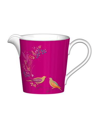 Portmeirion Chelsea Porcelain Cream Jug-PINK-One Size