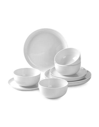 Sophie Conran For Portmeirion Choices 12-Piece Dinnerware Set-WHITE-12 Piece Set