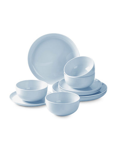 Sophie Conran For Portmeirion Choices 12-Piece Dinnerware Set-BLUE-12 Piece Set
