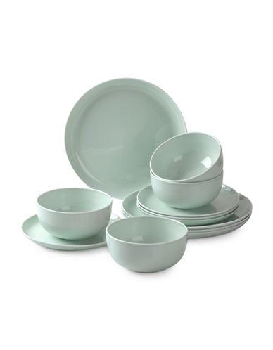 Sophie Conran For Portmeirion Choices 12-Piece Dinnerware Set-GREEN-12 Piece Set