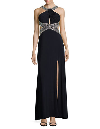 Betsy & Adam Beaded Open-Back Gown-BLUE-4 88918403_BLUE_4