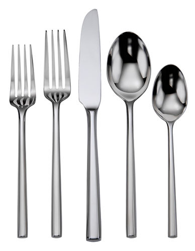 Oneida Diameter 20 Piece Flatware Set-SILVER-One Size