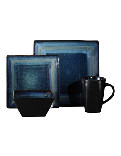 Oneida 16-Piece Adriatic Blue Dinnerware Set-BLUE-One Size