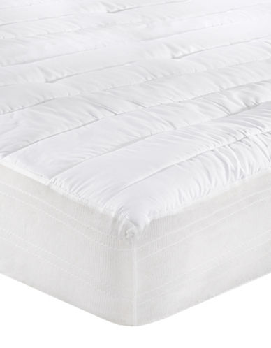 Sealy My Temperature Regulating Mattress Pad-WHITE-King