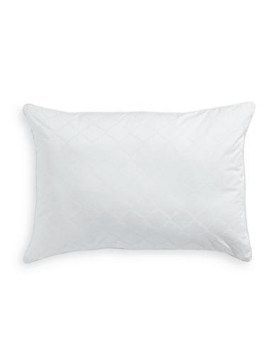 Martha Stewart Luxury Down Alternative Medium Support Gusset Pillow-WHITE-Queen