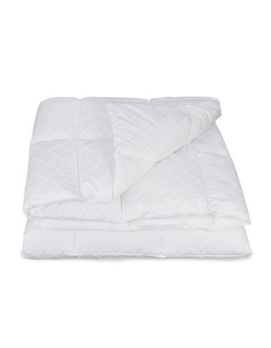 Martha Stewart Luxury Down Alternative Medium Weight Duvet-WHITE-Twin