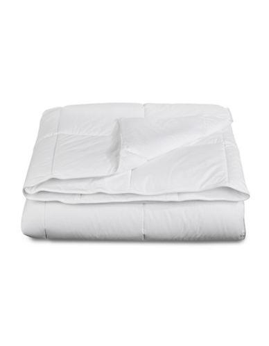 Sealy My Temperature Regulating Medium Weight Duvet-WHITE-Full/Queen